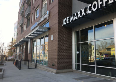 Joe Maxx Coffee Shop Mixed Use Tenant Improvement 2