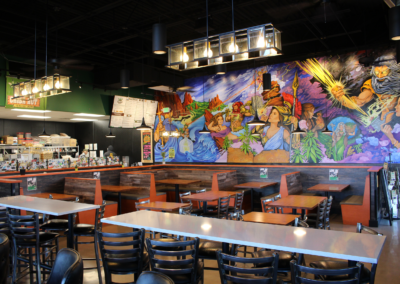 Cheba Hut Colorado Springs Restaurant Tenant Finish Snyder Building Construction